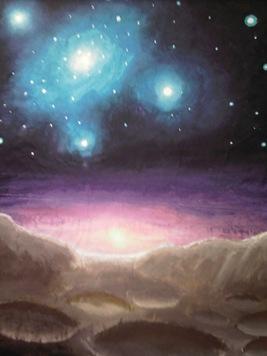 Apus de soare pe o alta planeta pictura 2002