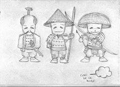 Diseños para los Samukokes del Clan de la Nube