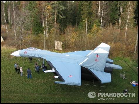 Russie une armée gonflable-43
