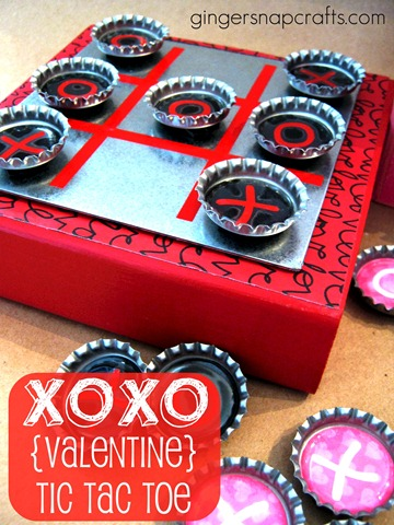 valentine tic tac toe tutorial
