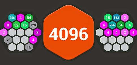Juego 4096 Hexa