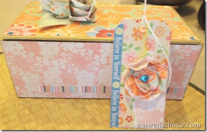 Floral Box and Tag