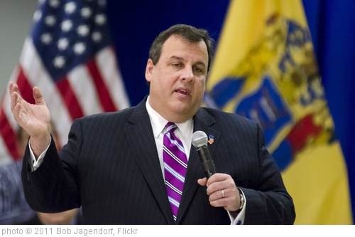 'NJ Governor Chris Christie' photo (c) 2011, Bob Jagendorf - license: http://creativecommons.org/licenses/by/2.0/