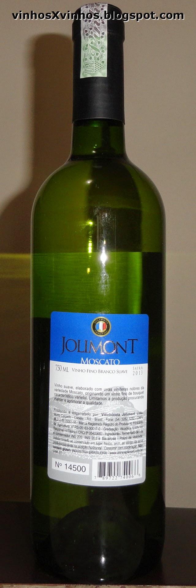 Garrafa vinho branco