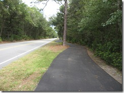 The Marshland section of the HHI bike path system