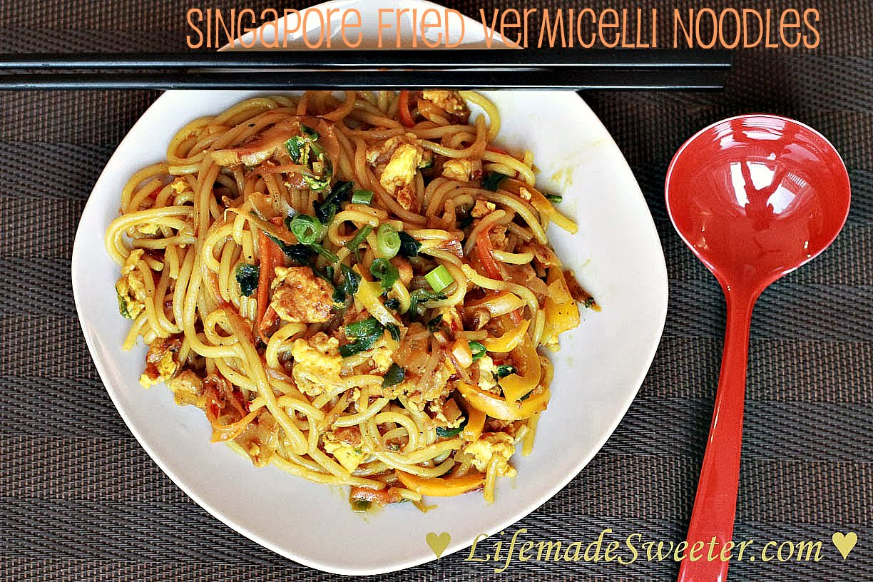 Stir Fried Shanghai Noodles with Ground Pork