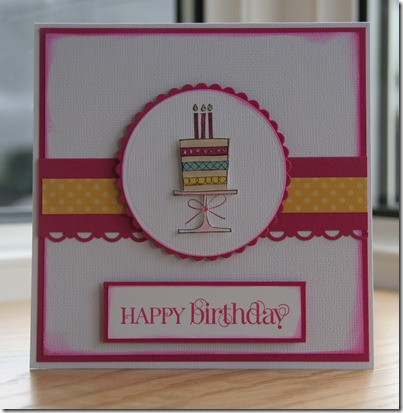 Stampin' Up Birthday