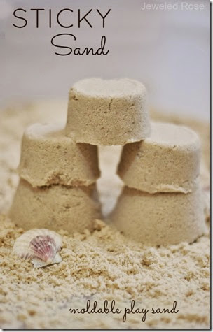 Sticky Sand Dough from Growing a Jeweled Rose