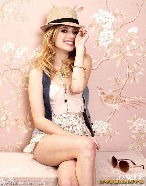 Emma Roberts linda sensual sexy sedutora desbaratinando (75)