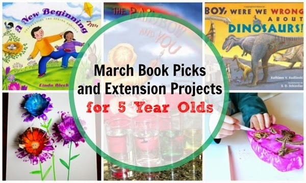 March Book and Extension Projects for 5 Year Olds