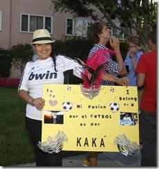 kaká fue uno de los mas aclamados en la gira