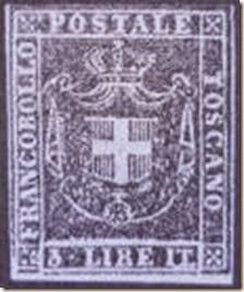 Francobollo Tre Lire
