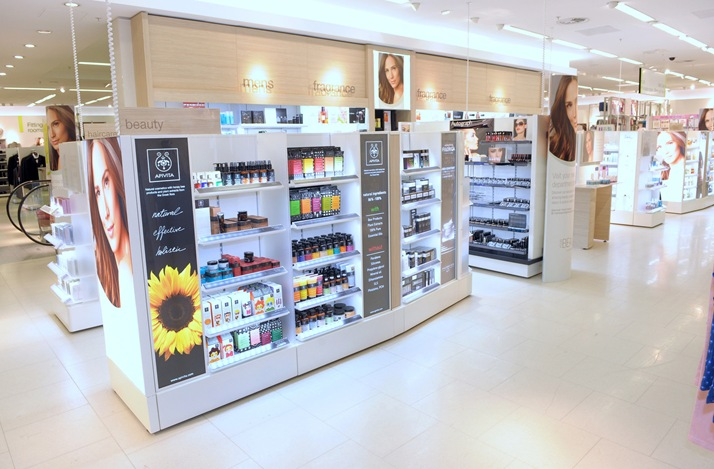 The new beauty department at M&S Abbeycentre