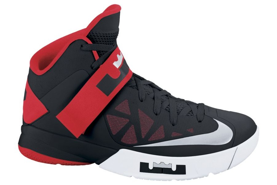 Nike Zoom Soldier VI in Black White and Red Available at Nikestore ...