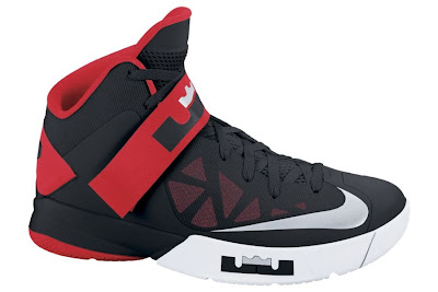 nike zoom soldier 6 gr black white red 1 01 Nike Zoom Soldier VI in Black, White and Red Available at Nikestore