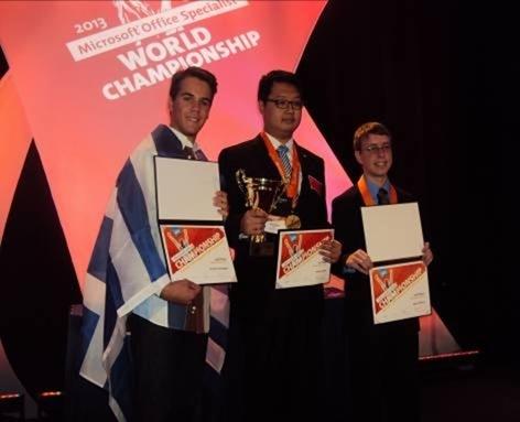 Tρίτος στο Παγκόσμιο Πρωτάθλημα Πληροφορικής της Μicrosoft 15χρονος Έλληνας