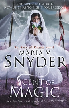 Scent of Magic Maria V Snyder Cover