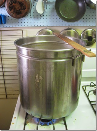 Bringing wort to a boil