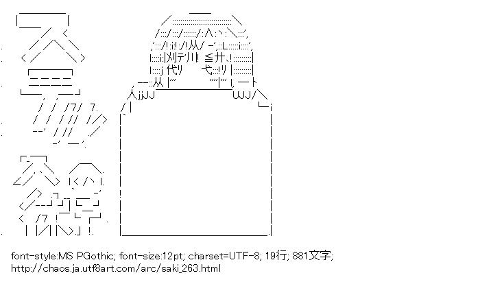 咲,東横桃子,忍者