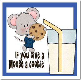 if you give a mouse a cookie preschool pack