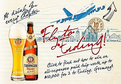 Fly to Erding with Erdinger Brewery