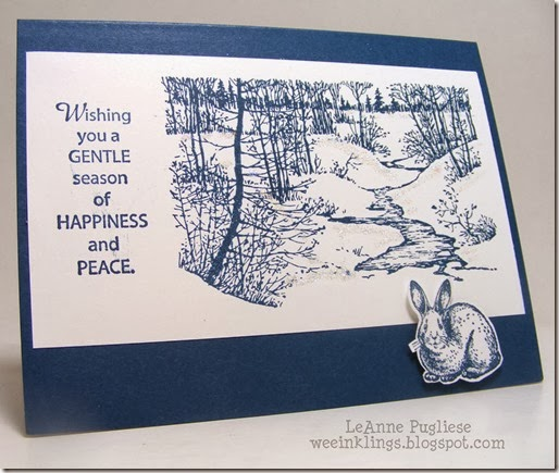 LeAnne Pugliese WeeInklings Artist Outpost Winter Christmas Card
