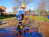 A beautiful December day - we had the playground to ourselves