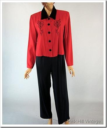 Red Vtg Suit8