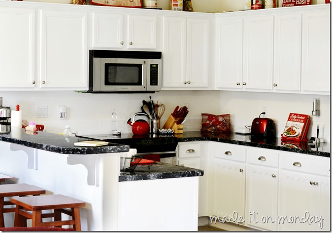kitchen makeover counters and cupboards