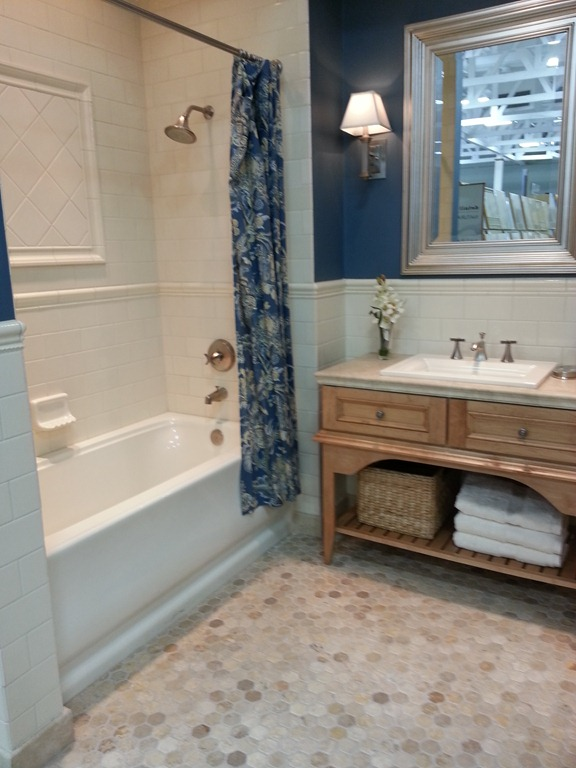 The Tile Shop Display Bathroom