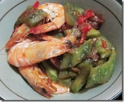 stir fried ampalaya, 240baon