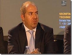 Ministro pouco à-vontade no congresso dos calhaus.Jul.2012
