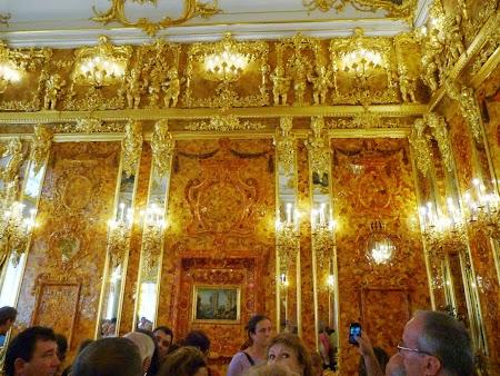 Circuit Rusia: Camera de chihlimbar de la Tsarskoe Selo