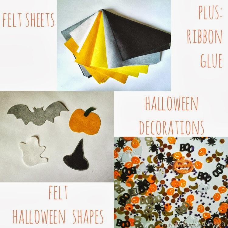 DIY FELT Halloween Boo banner