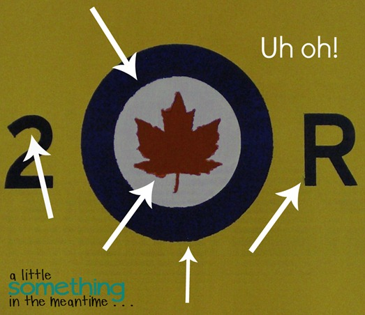 RCAF Sign Stencil Mistakes Watermark