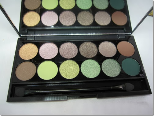 Sleek MakeUP Garden of Eden Palette