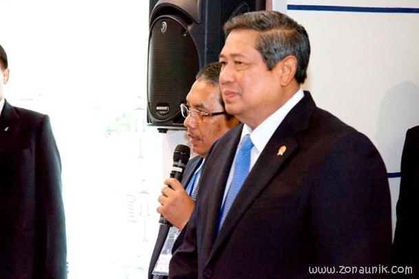 foto keseharian Presiden Indonesia Susilo Bambang Yudhoyono (45)