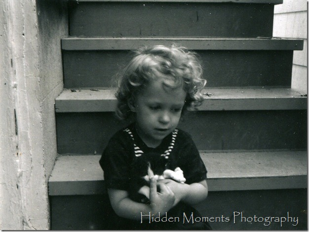 Deb and kitten 1963