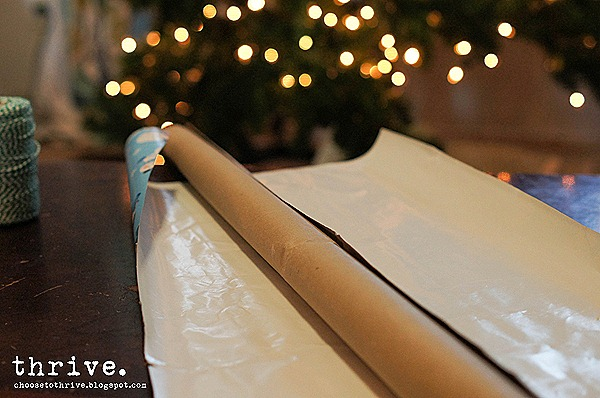 7 Things to do with wrapping paper centers - choosetothrive.blogspot.com