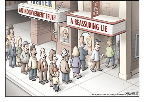 verdade difícil e inconveniente
