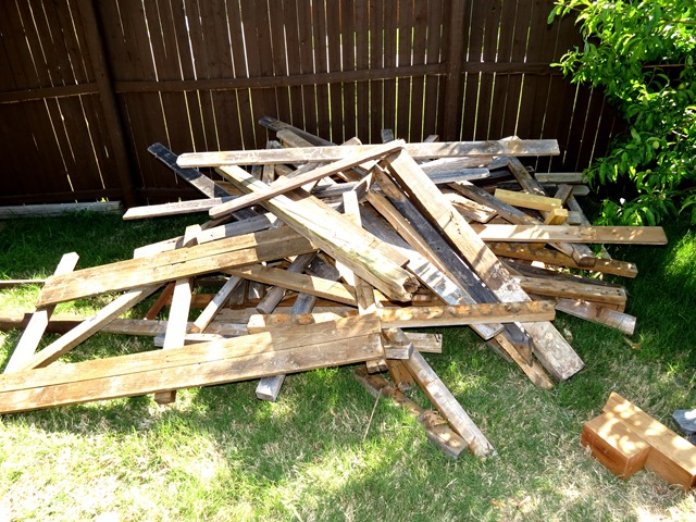 How to Build a New Fence Using Old Scraps www.stylewithcents.blogspot.com. 11