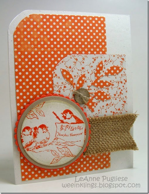 LeAnne Pugliese WeeInklings Crafty Secrets Birds Stampin