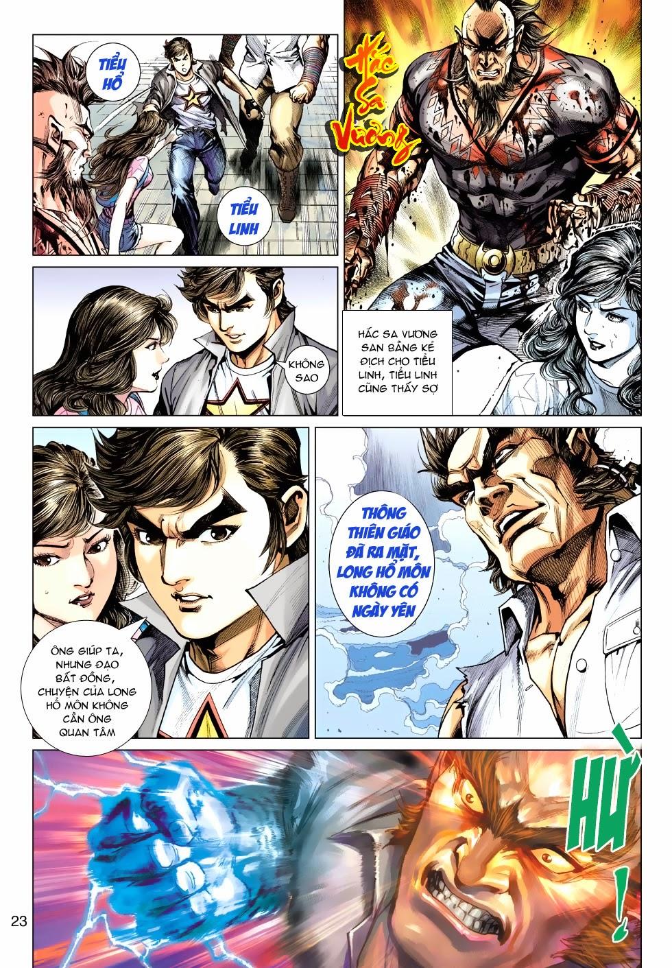 Tân Tác Long Hổ Môn chap 488 - Trang 23