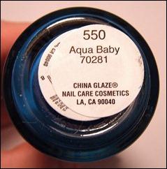 China Glaze Aqua Baby