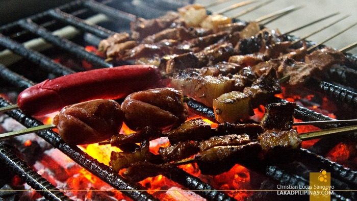 Barbeque Dinner at Boracay