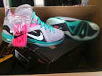 nike lebron 9 ps elite grey candy pink 3 02 LeBron 9 P.S. Elite Miami Vice Official Images & Release Date