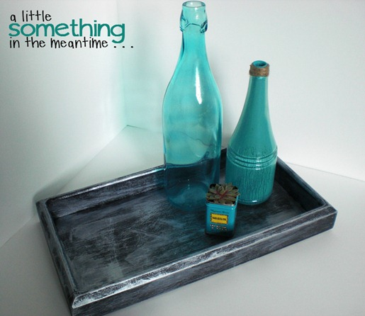 Faux Zinc Tray 1 WM