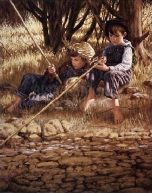 Jim Daly, La pêche