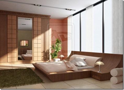 Modern Bedroom Comfort Interior by Bent Masrya