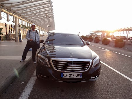 27. Blacklane Limousine - Nice Airport.JPG
